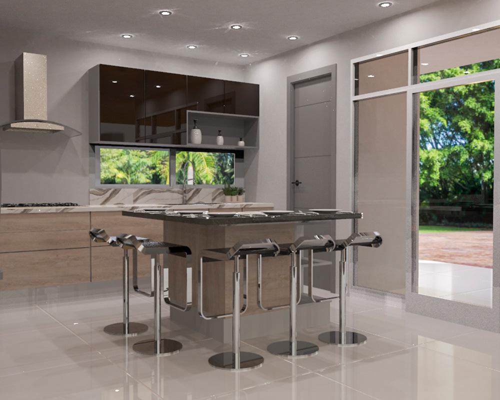 DECONA Cocinas e interiorismo proyecto casa el country