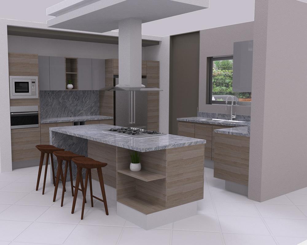 DECONA Cocinas e interiorismo proyecto chimalpopoca 1