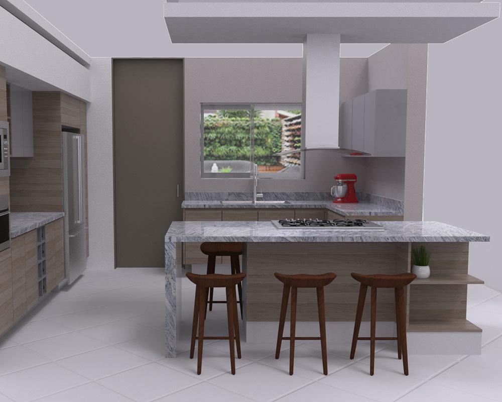 DECONA Cocinas e interiorismo proyecto chimalpopoca 2