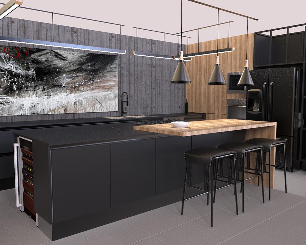 DECONA Cocinas e interiorismo proyecto gral prim